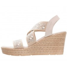 Marco Tozzi Taupe Wedges