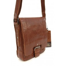 Unisex Leather Messenger/Body Bag