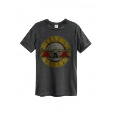 AMPLIFIED GUNS N ROSES DRUM Amplified Rock T-Shirt Charcoal