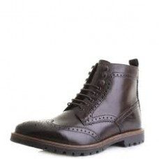 Base London Troop Boot Washed Brown
