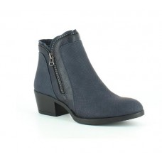 Heavenly Feet Basel2 (Navy) Ankle Boot