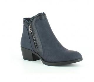 Heavenly Feet Basel2 (Navy) Ankle Boot