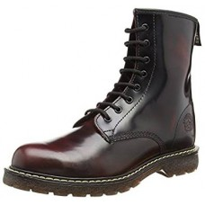 Grinders Men's Cedric 8 Eyelet Derby Burgandy Boot
