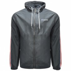 Lambretta Light Weight Mens Hoodedd  Jacket Grey
