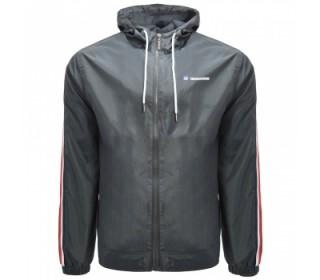 Lambretta Light Weight Mens Hoodedd  Jacket Grey