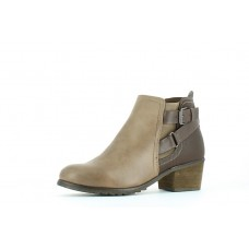 Heavenly Feet Darcy Ankle Boots - Earth