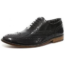 London  Brougues Gatsby Mens Polished Black