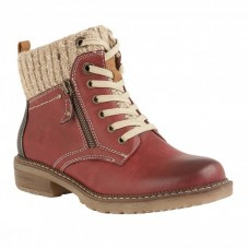 Lotus Relife Ankle Boots (Red)