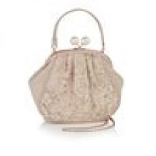 Ruby Shoo Clutch Bag Rose Gold