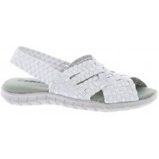 Adesso Sally Slip-on Shoes White/Silver