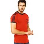 Adidas Originals Sports Ess Tee Red