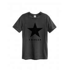 Amplified DAVID BOWIE Blackstar  Rock T-Shirt Charcoal