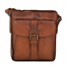 Unisex Leather Messenger / Body Bag
