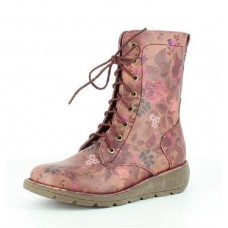Heavenly Feet Walker2 (Berry Floral) Boots