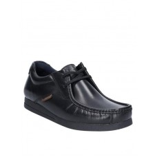 Base London men's casual lace up shoe Event black