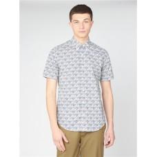 Ben Sherman Short Sleeve Shirt Mood Indigo