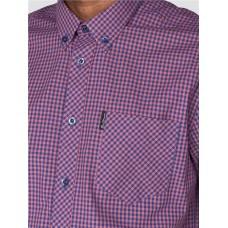 Ben Sherman Gingham Short Sleeved Shirt