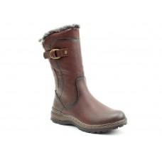Heavenly feet Mid Calf Boots Bramble Chocolate