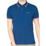 Ben Sherman Short Sleeve Polo Shirt 059 Lake
