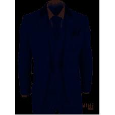 Cavani Men's  Miles Three Piece Suit Navy