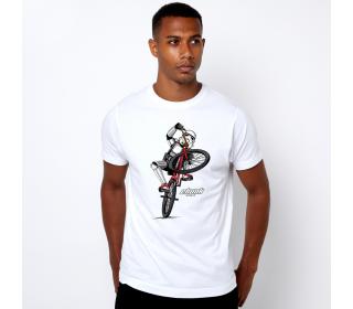 Chunk Wheelie T-Shirt White Men's