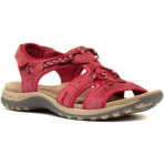 Earth Spirit ladies leather sandals Fairmont Leather Sandals Rich Red