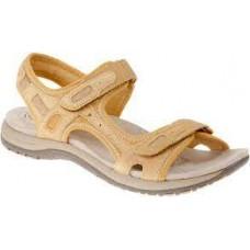Earth Spirit ladies leather sandals Frisco Yellow