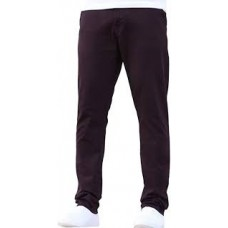 Enzo Chino Jeans Burgendy