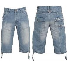 Enzo Shorts Bleach Wash