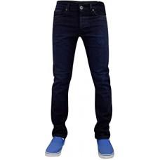 Enzo Skinny Stretch Jeans Dark Stonewash