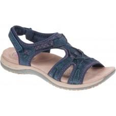 Earth Spirit ladies leather sandals Fairmont navy