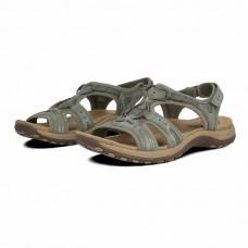 Earth Spirit ladies leather sandals Fairmont sage
