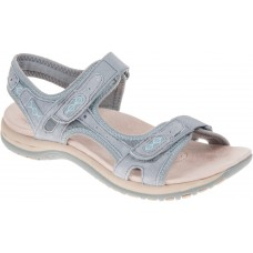 Earth Spirit ladies leather sandals Frisco grey