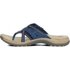 Earth Spirit ladies leather sandals Juliet navy