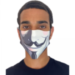 Novelty face mask 'Anonymous'