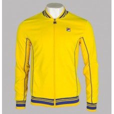 Fila Vintage Baranci Track Top Cyber Yellow/Royal Blue
