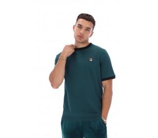 Fila Marconi Essential Ringer T-Shirt June Bug/Black