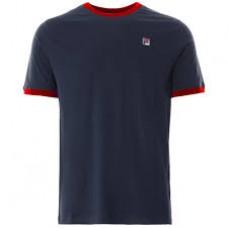 Fila Marconi Tee Shirt Mens Peacoat/Chinese Red