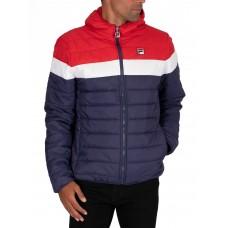 Fila llyr peacoat/red/white puffer jacket men's