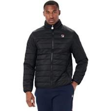 Fila Skip Block Puffer Jacket Mens Black
