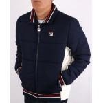 Fila Watson Light Puffer Jacket Peacoat/Gardenia