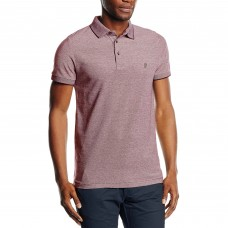 French Connection Slim Fit Polo Shirt Bordeaux
