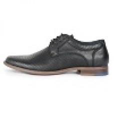 Front Duke Black Shoe