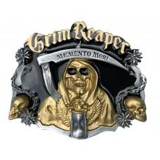 Tanside Belt Buckle Grim Reaper