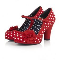 Ruby Shoo Hannah (Red Spots)