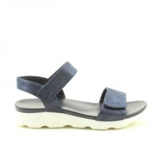 Heavenly Feet Ladies Ath-leisure comfort sandal, style Heidi.Navy