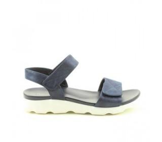 Heavenly Feet Ladies Ath-leisure comfort sandal, style Heidi.Navy