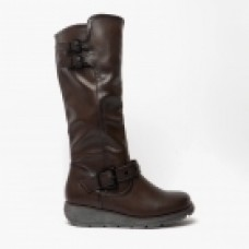 Heavenly Feet Tall Boots Erica Chocolate