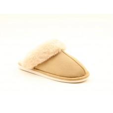 Heavenly Feet Fireside Beige Slippers/ Mules Women's