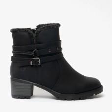 Heavenly Feet Ankle Boot Fizz Black